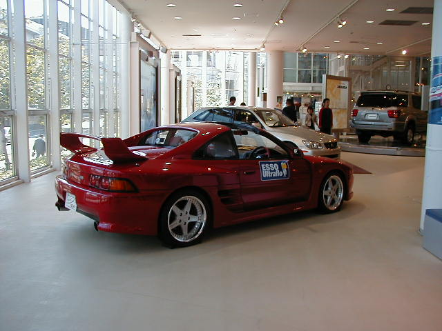 TRD2000GT #?? (Red) @ Mega Web Toyota City Showcase P9230013