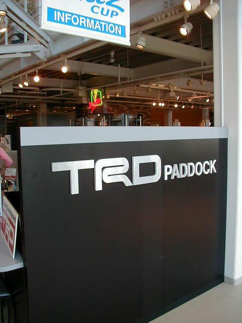 TRD2000GT #?? (Red) @ Mega Web Toyota City Showcase P9230014