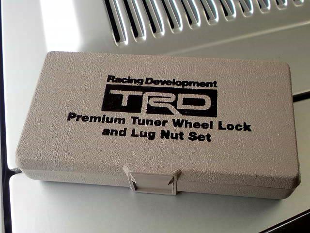 TRD premium tuner wheel lock and lug nut set DSC00848